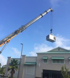 Installation with Crane